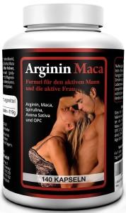 L-ARGININ 1500 mg PLUS MACA GOLD 3500